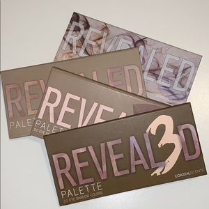 Revealed eyeshadow palette bundle - coastal scents